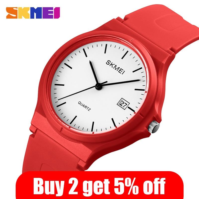 SKMEI Fashion Ladies Wristwatches Simple Women Quartz Watch Casual Female Sports Watches Girls Clock Relogio Feminino 1449 enlarge