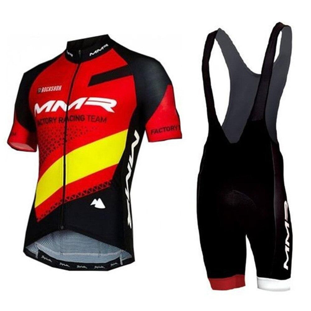 MMR equipo hombres ciclismo jersey ropa conjunto de manga corta ropa ciclismo...