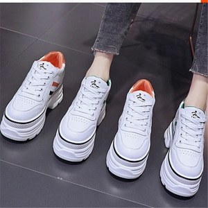 2021 Hot fashion Woman Sneakers Ladies Casual Breathable Female Vulcanized Shoes Lace Up Women's Comfort Walking Shoes 34-39