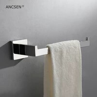 stainless steel bathroom towel holder wall mounted towel rings towel racktowel bar mirror polishing bath hardware accessories