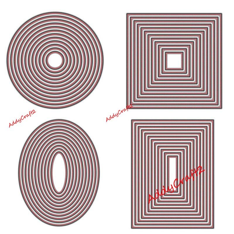 2020 new Metal Cutting Dies Dot Frame Stencils For DIY Scrapbooking Embossing Paper Wedding Cards Die Cuts Photo Album