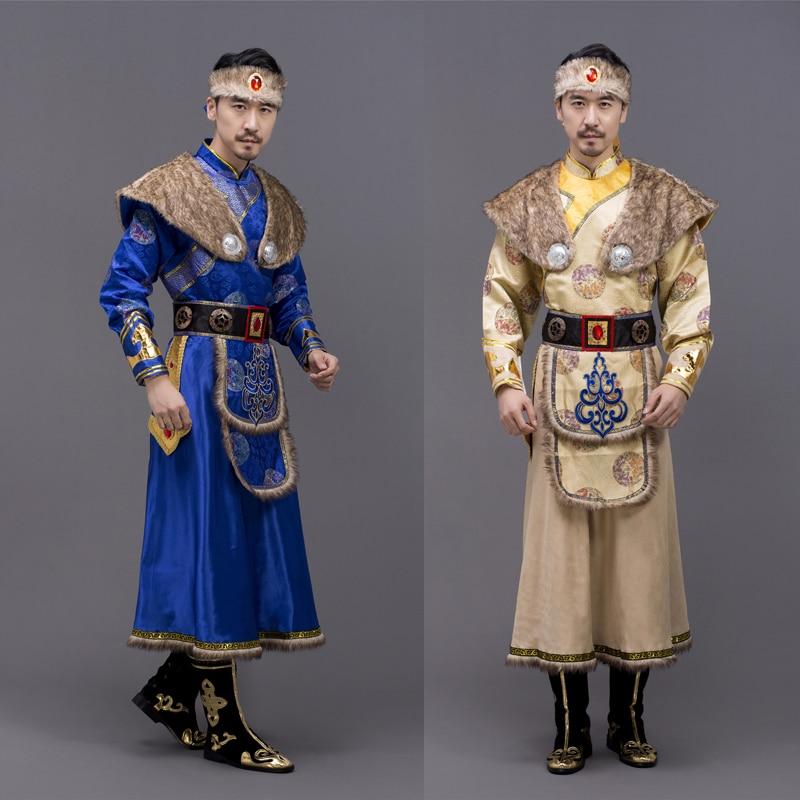 Азиатский костюм, Монгольская Народная Одежда для танцев, косплей, шоу, сценическая Одежда для танцев, представление, Национальный пастбище...