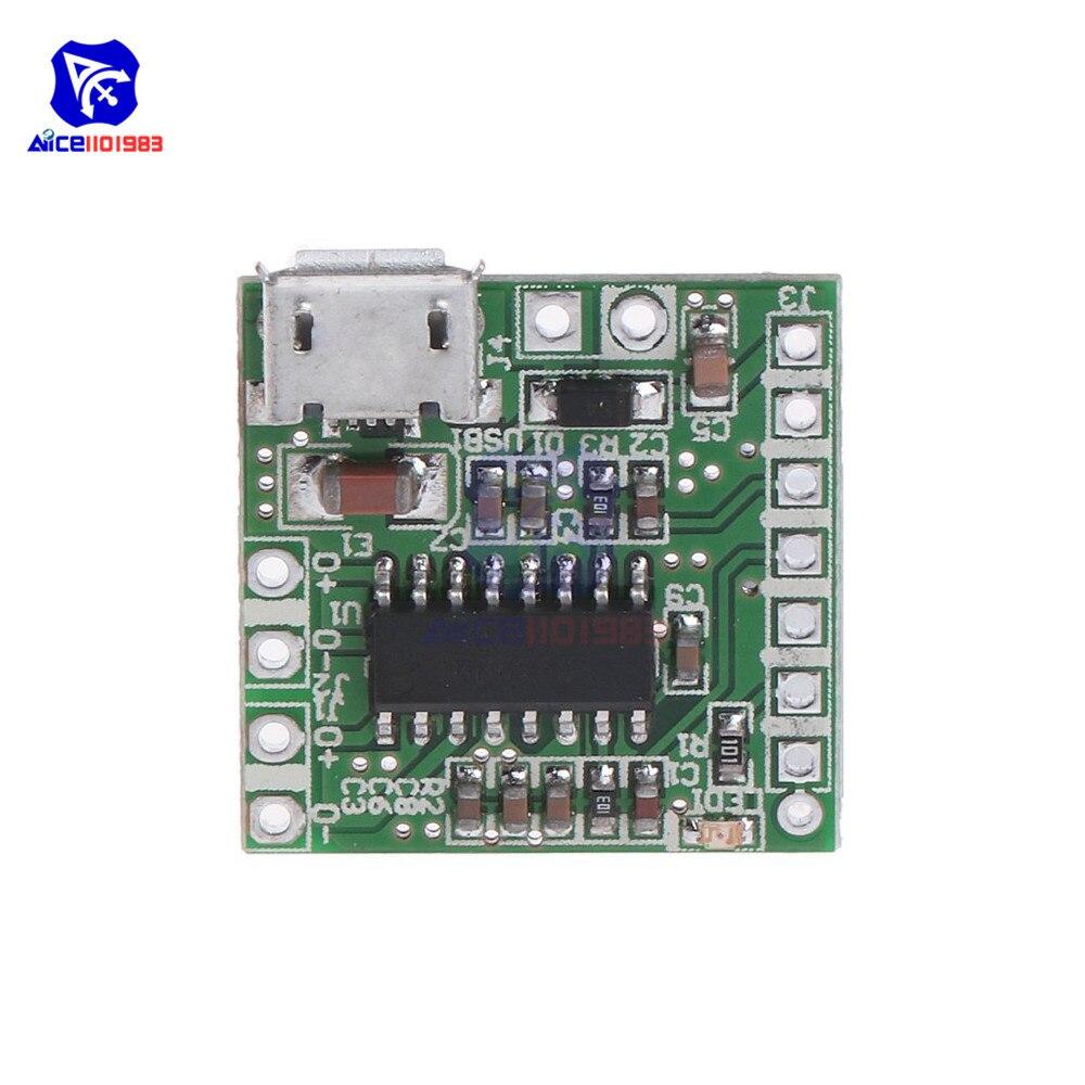 Diymore PAM8403 Mini Verstärker Modul Klasse D 2x3W Micro USB Power Bluetooth Verstärker Bord Modul