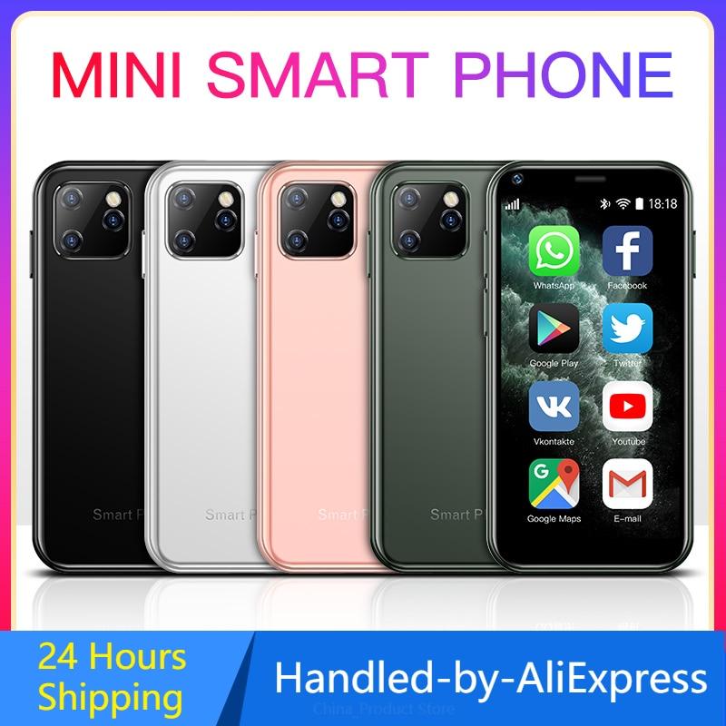 SOYES XS11 سوبر ميني الهاتف الذكي أندرويد 1GB 8GB 2.5 ''رباعية النواة جوجل بلاي مخزن الجيل الثالث 3G لطيف هواتف محمولة صغيرة الحجم مقابل XS S9X