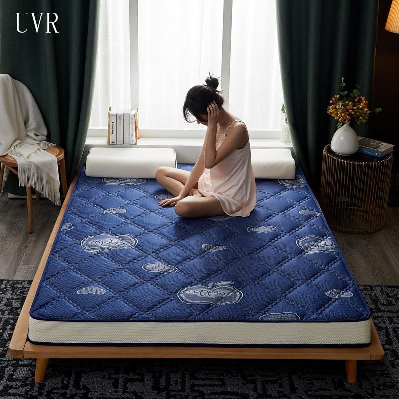 Матрас UVR из тайского латекса, многофункциональные татами для всей семьи, коврик для кровати, удобный коврик, кровать, дышащая подушка, миним...