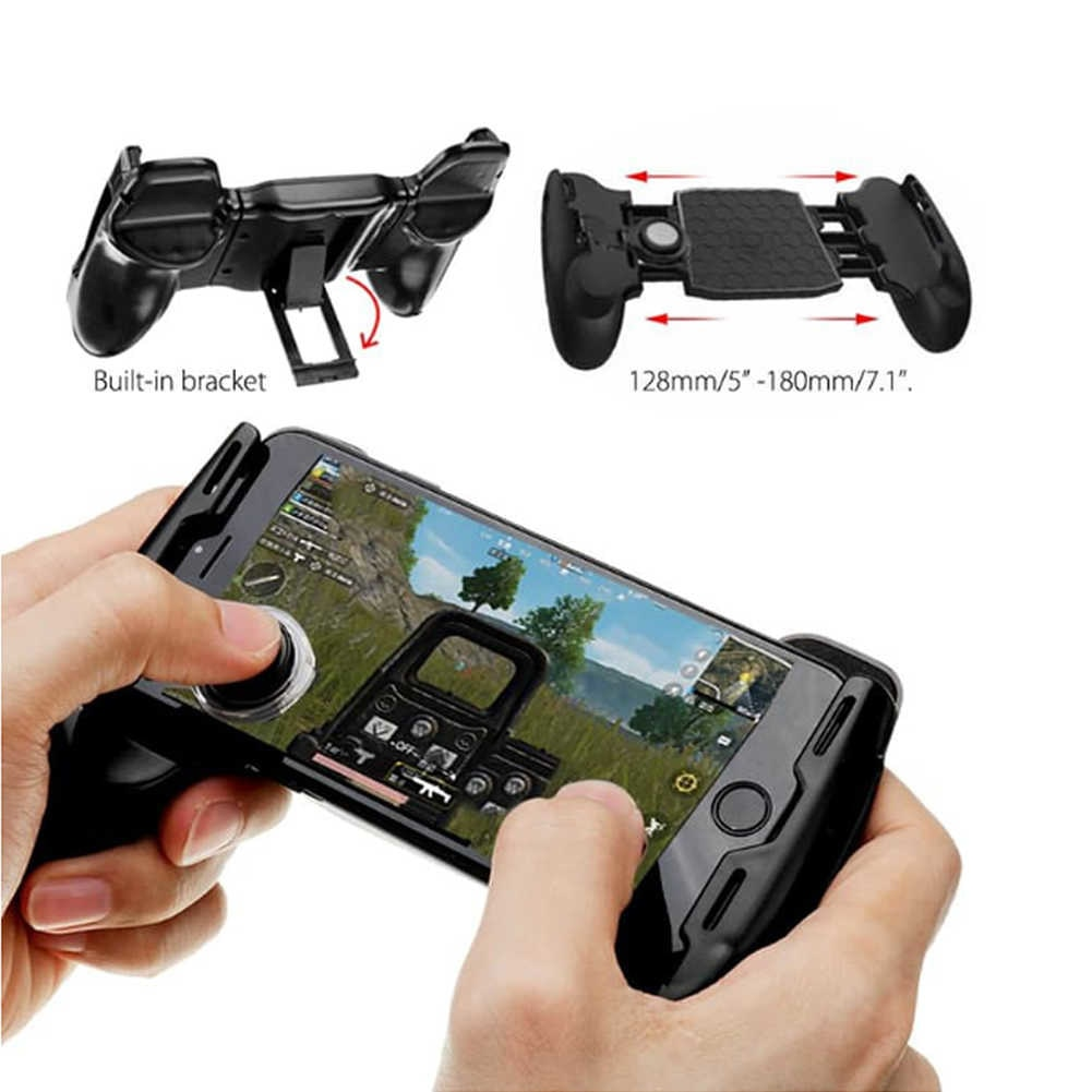 3 in 1 Mobile Game Controller Compatible with Fortnite iPhone/Android Portable Gamepad Mobile Contro