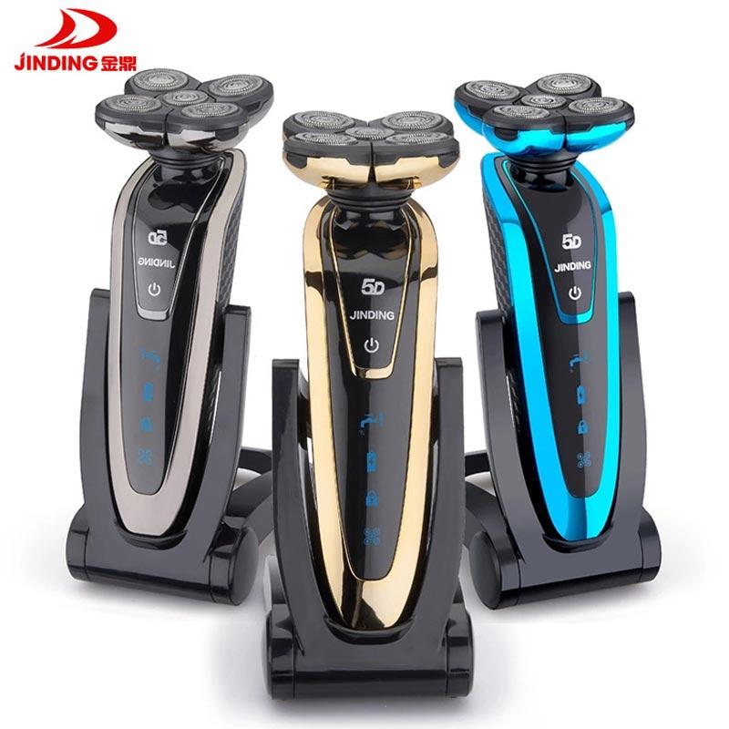 5D العائمة رئيس الحلاقة الكهربائية الرجال آلة الحلاقة مقاوم للماء قابلة للشحن الجسم كله غسل ماكينة حلاقة كهربائية D45