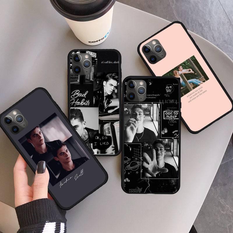 Nach Film Hardin Scott luxus Telefon Fall für iPhone 11 12 pro XS MAX 8 7 6 6S Plus X 5S SE 2020 XR Anti-herbst mobile abdeckung
