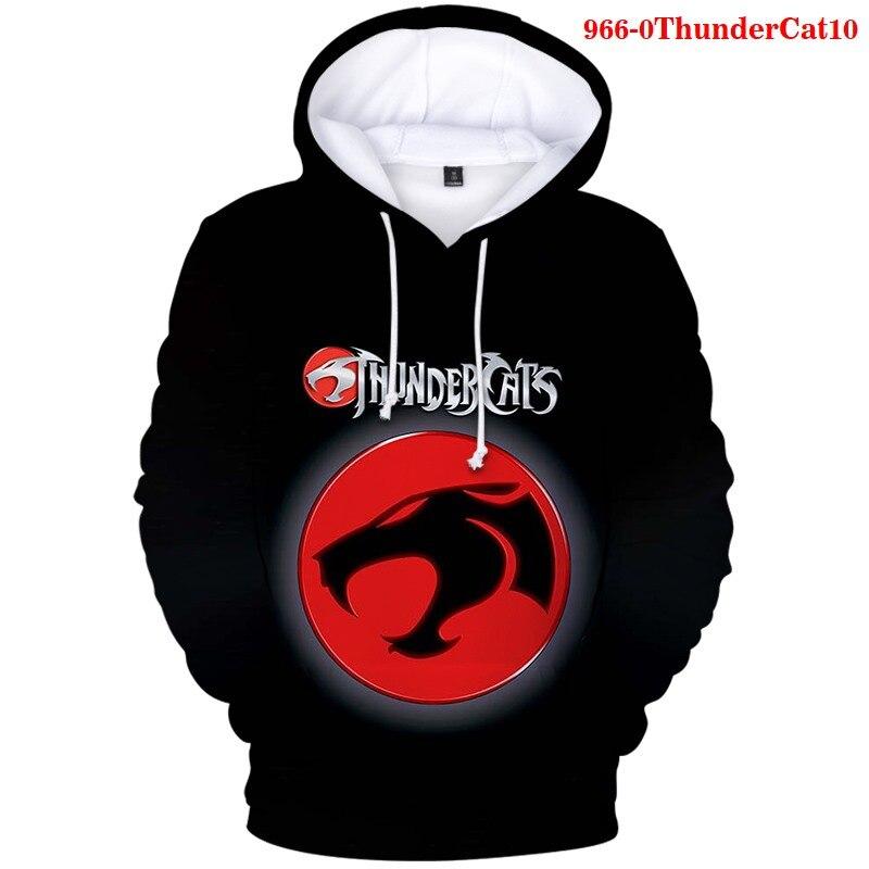 Мужские толстовки, свитшоты для мальчиков забавные Thundercats 3D Печатные повседневные толстовки п ThunderCat Харадзюку Толстовка размера плюс недорого