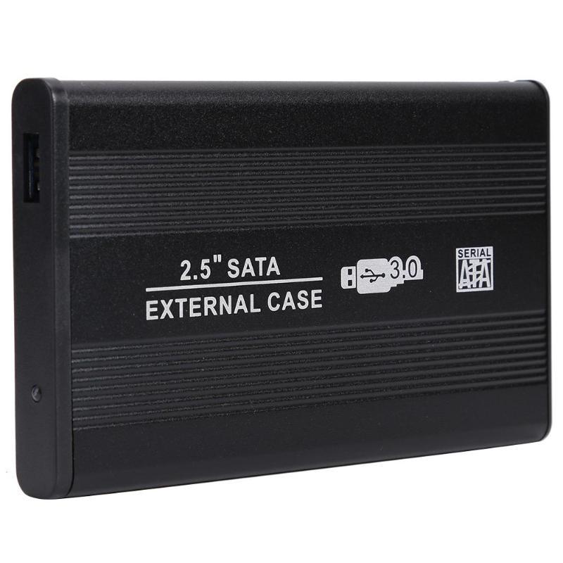 Carcasa de disco duro SATA de 2,5 pulgadas USB3.0 a USB3.0 8T carcasa externa HDD para ordenador portátil caja de cierre HDD de alta velocidad para Mac OS 8,6