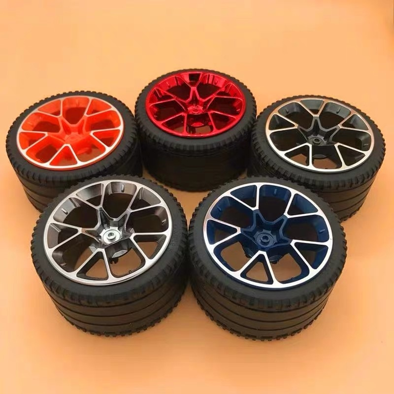 4 unids/lote conctción bloques совместимые аксессуары для alta tecnologia 6139227 + 6217976/42083 Bugatti 82*46 мм de
