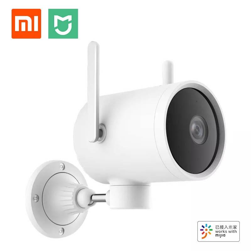 Xiaomi في الهواء الطلق كاميرا للماء 270 زاوية 1080P اللاسلكية WIFI كاميرا H265 للرؤية الليلية مكالمة صوتية إنذار رصد مع مي المنزل