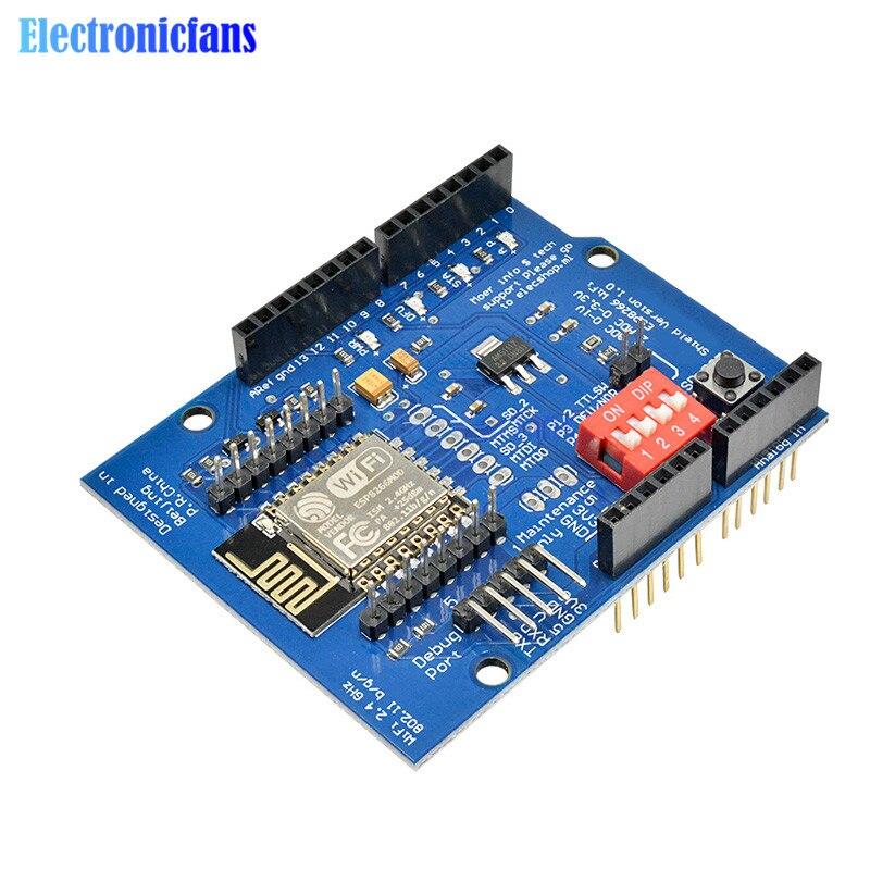 ESP8266 ESP-12E UART WIFI Беспроводная плата для разработки щита для Arduino UNO R3 цепи, модули плат ONE