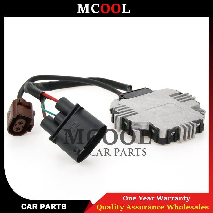 3C0959455F nouveau Module de ventilateur de refroidissement pour Audi TT 2008-2009 Volkswagen G TI Golf J etta Passat 1K0959455N 1TD959455 1K0959455DT