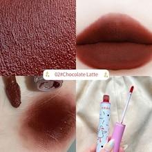 Matte Texture Mist Lip Gloss Silky Waterproof Lipstick Longlasting Lip Glaze Cosmetic For Beauty Wom