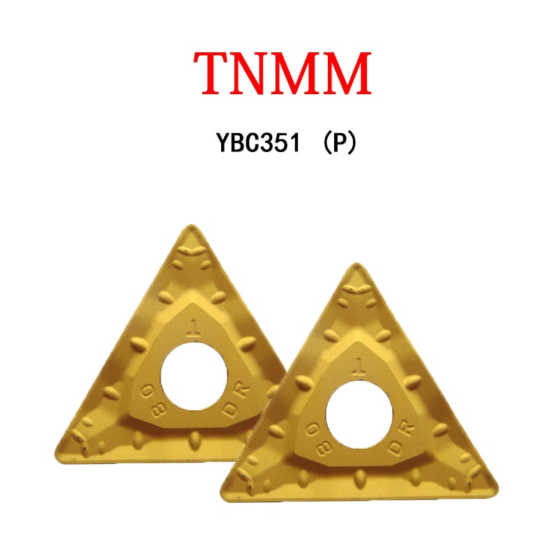 TNMM TNMM22 220408 TNMM220408 TNMM220408-DR YBC351 جانب واحد كبير الثلاثي شفرات تجهيز الصلب آلة مخرطة باستخدام الحاسب الآلي القاطع