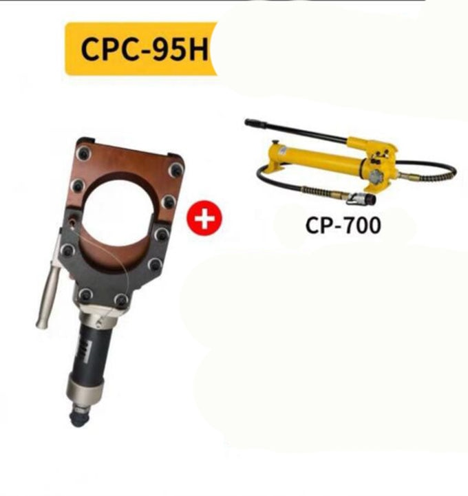Hydraulic cable shears HEAD Manual hydraulic wire cutters Electric cable shears +CP-700 Hand pump enlarge
