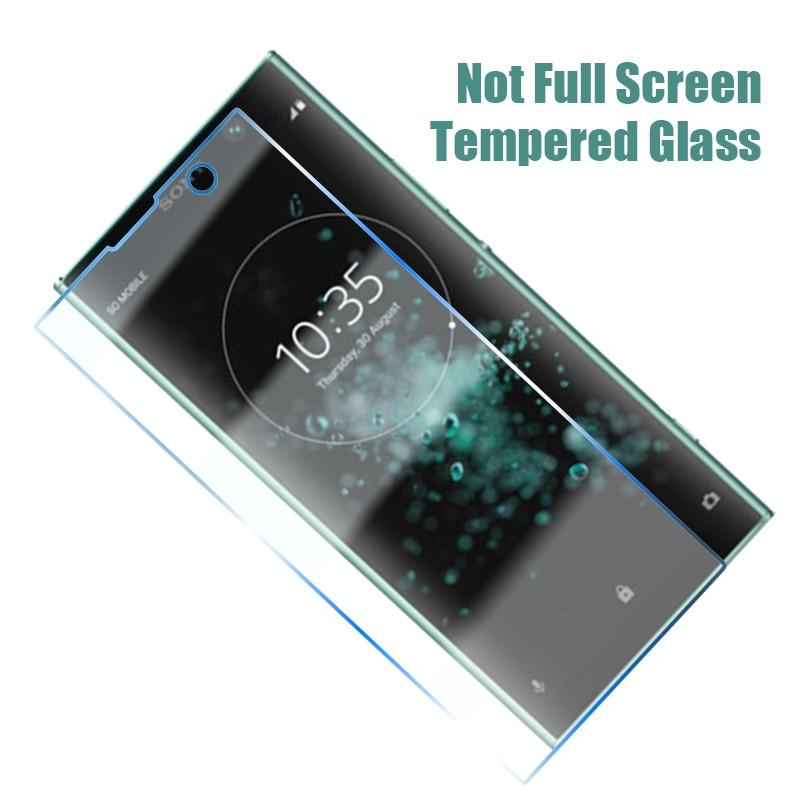 3 protectores de pantalla endurecidos para Sony L3 Xperia L4 1 II 5 10 Plus HD cristal templado transparente para Sony C3 C4 C5 E1(Dual)