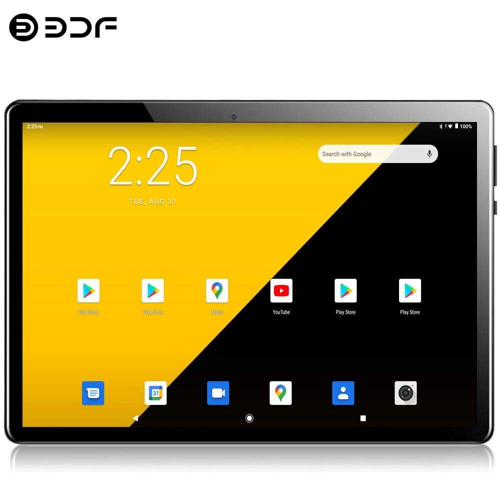 New 10.1 Inch Tablets Octa Core 4G Phablet Android 10.0 Google Play 1280*800 IPS 4GB RAM 64GB ROM Tablet PC Dual SIM Card GPS