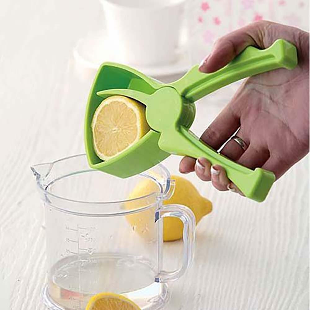 Exprimidor Manual para el hogar de limón, Material ABS, Mini exprimidor creativo, exprimidor de zumo de naranja, Clip de presión de fruta