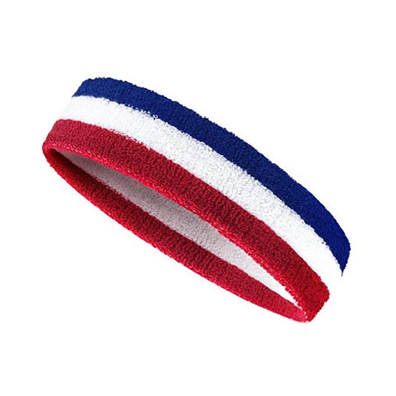 Aptitud elástico cinta ciclismo diadema sudor transpirable Yoga bandas para el cabello de la cabeza de sudor bandas