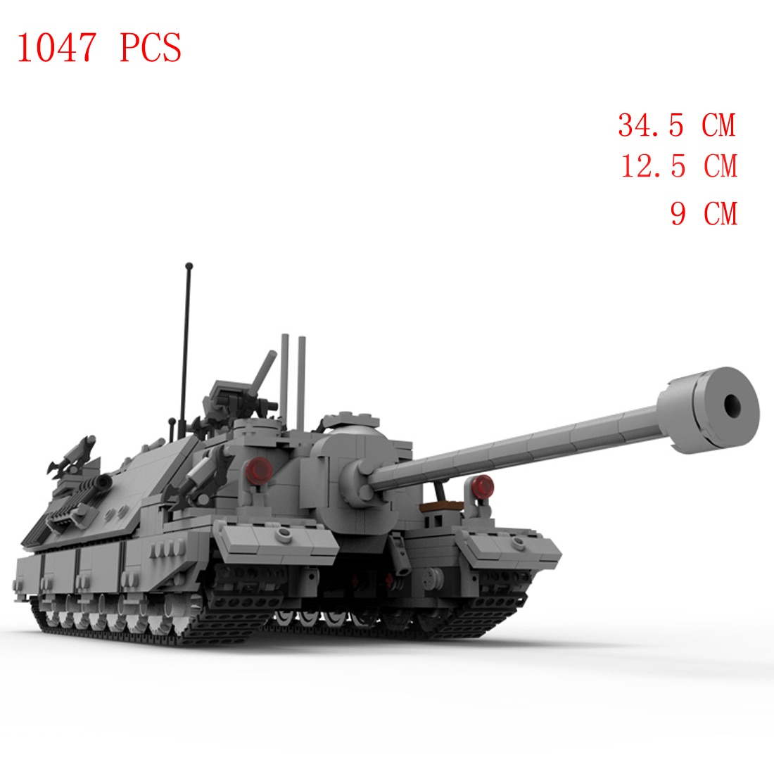 hot military WWII Soviet Union Army technic T-95 main battle tank vehicles war equipment Building Blocks model bricks toys gift xingbao technic new military series 06033 the uk challenger2 main battle tank model blocks bricks toys figure christmas gifts