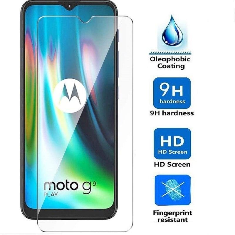 Protective Glass Film For Motorola Moto E6s E6 E5 E4 Plus Z4 Z3 Play Z2 Force Screen Protector Tempered Glass For Moto G9 Play