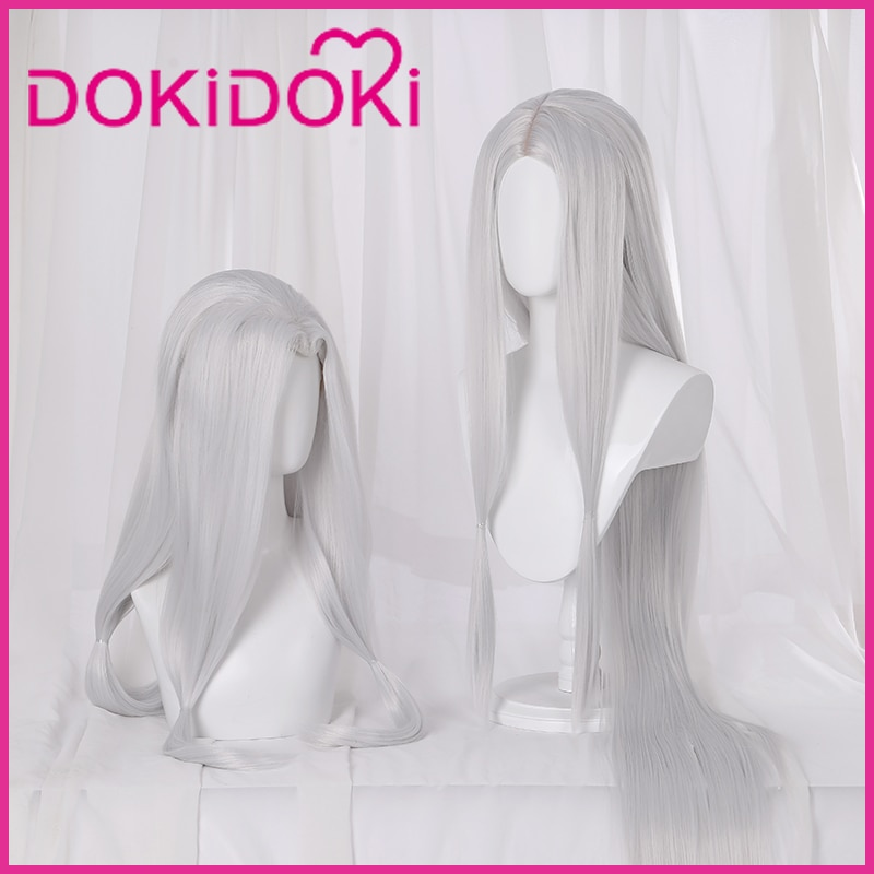 DokiDoki Demon Slayer Kimetsu no Yaiba peluca Cosplay hermana mayor araña/madre araña demonio pelo Kimetsu no Yaiba peluca Cosplay