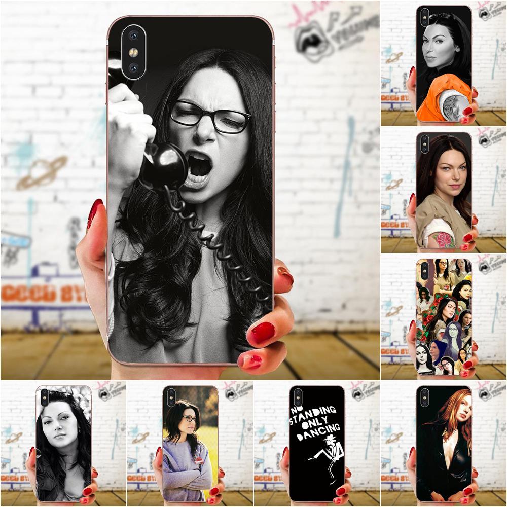 Cubiertas móviles impresión Alex Vause Laura Prepon para Samsung Galaxy A71 A51...
