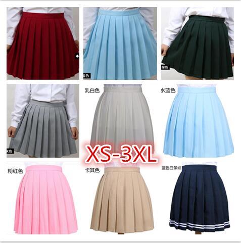 Женская плиссированная юбка с высокой талией, летняя школьная форма, клетчатые юбки, женские юбки, карнавальные костюмы