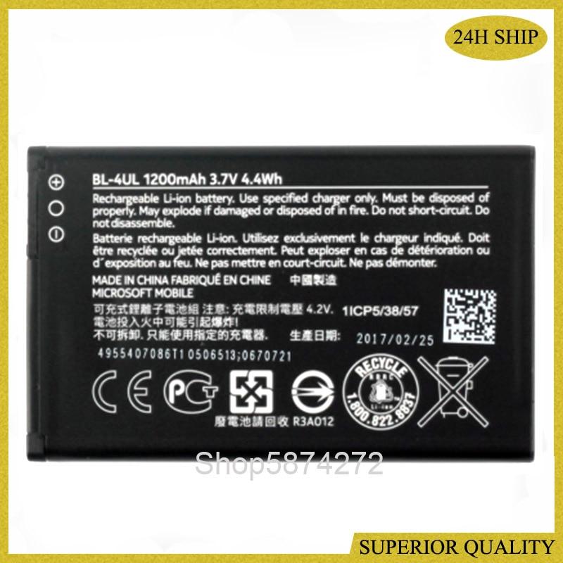Bateria Para Nokia Asha 225 RM-1126 BL-4UL RM-1011 1012 1172 1126 TA-1030 1200mAh