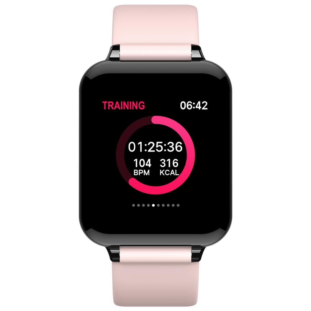 B57 CY05 IWO 8 Смарт-часы для мужчин и женщин, фитнес-часы, умные часы, пульсометр, кровяное здоровье для HUAWEI, samsung, sony, Android Phone