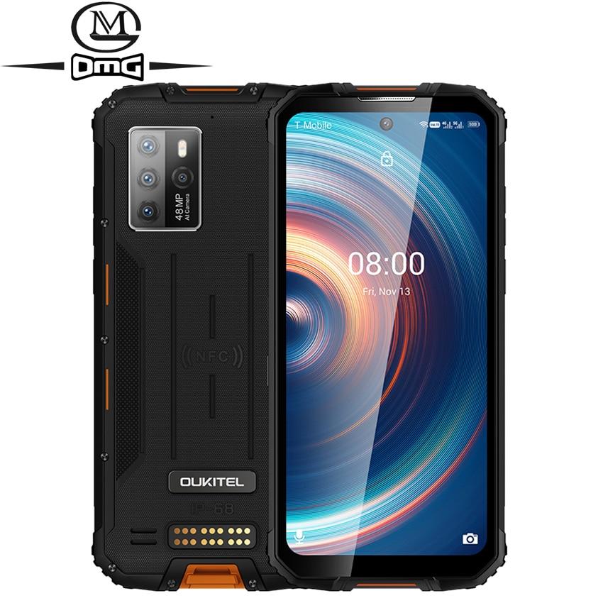 Перейти на Алиэкспресс и купить Глобальная версия OUKITEL WP10 NFC прочный 5G смартфонов на базе android 10 8 ГБ 128 8000 мАч мобильных телефонов 6,67 дюйм48MP противоударный чехол для телефона