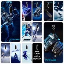 Patinoire de Hockey sur glace chaude sport coque en silicone pour Xiao mi Note 10 9T CC9 E 9 Pro A3 Lite Play rouge mi Note 8T 8 8A 6 Pro 6A 4X couverture
