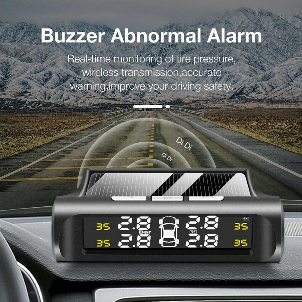 Car tire pressure monitoring TPMS detector real-time alarm system
