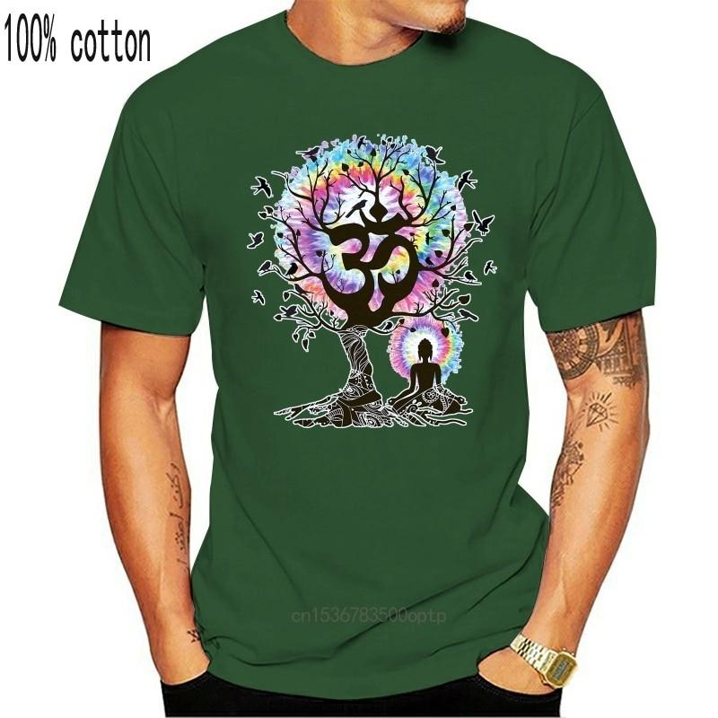 Женская футболка для йоги медитации Индии дзен Ом дерево Красивые Птицы принт TS1424|Футболки| | АлиЭкспресс