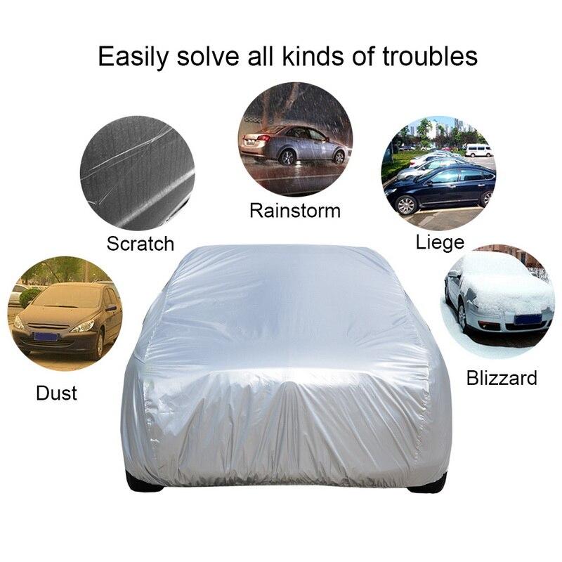 Автомобильный чехол, внешний автомобильный чехол, наружная защита, полные автомобильные Чехлы, снежный чехол, Солнцезащитный водонепрониц...