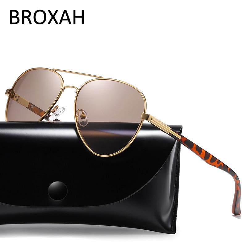 Мужские поляризованные солнцезащитные очки в стиле ретро, новинка 2020, Брендовые мужские солнцезащитные очки для вождения, овальные очки