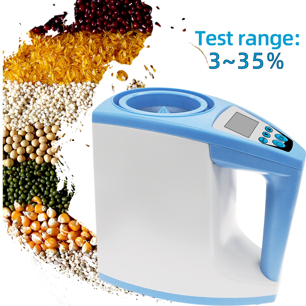 الرقمية الحبوب مقياس الرطوبة تستر LDS-1G قياس الرطوبة الأرز الذرة القمح الرطوبة تستر كاشف 40% off