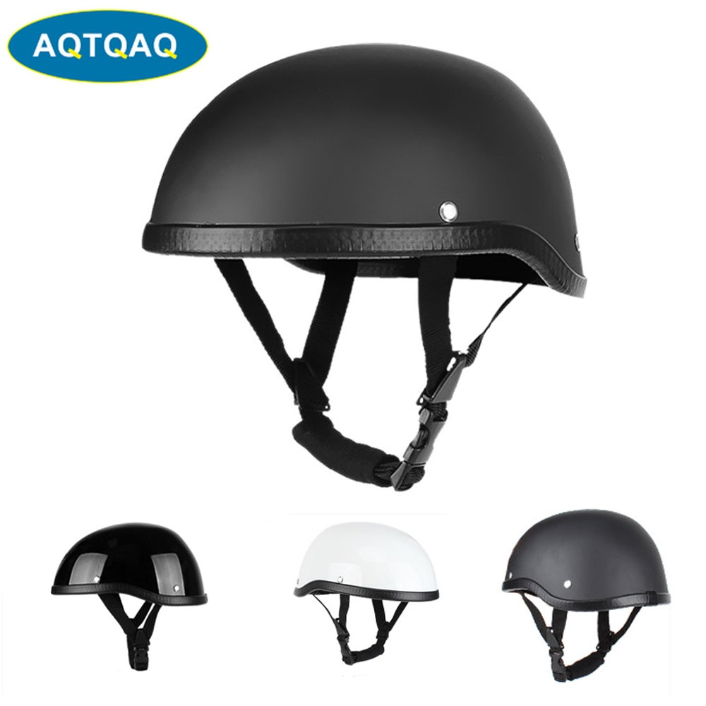 1Pcs Helmets Motorcycle Half Helmet for Men & Women, Half Face Cap With Safety Buckles for Bike Cruiser Scooter ATV enlarge