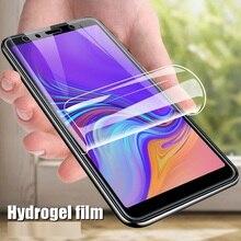 Soft TPU Full Cover Hydrogel Film For Samsung Galaxy A3 A5 A7 J3 J5 J7 2016 2017 Nano Screen Protector Film (Not Glass)