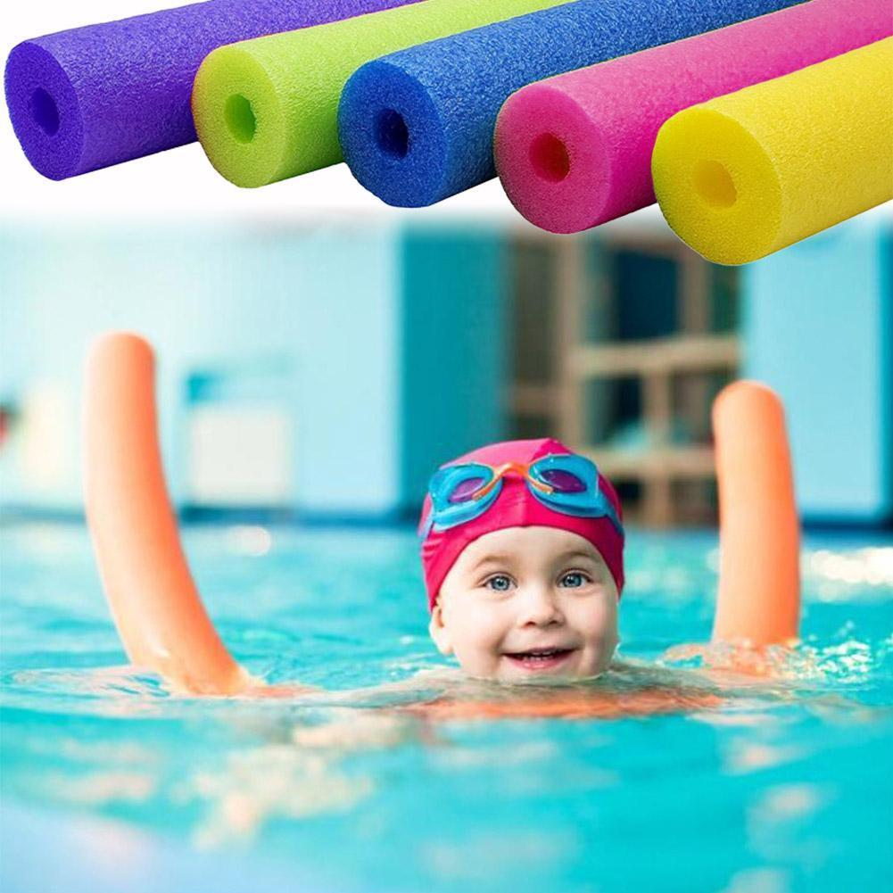 1 Uds. De espuma flotante para natación, para piscina, fideos, fideos, ayuda al flotador de espuma de agua, 6,5x150cm, accesorios para flotadores de piscina O8P6