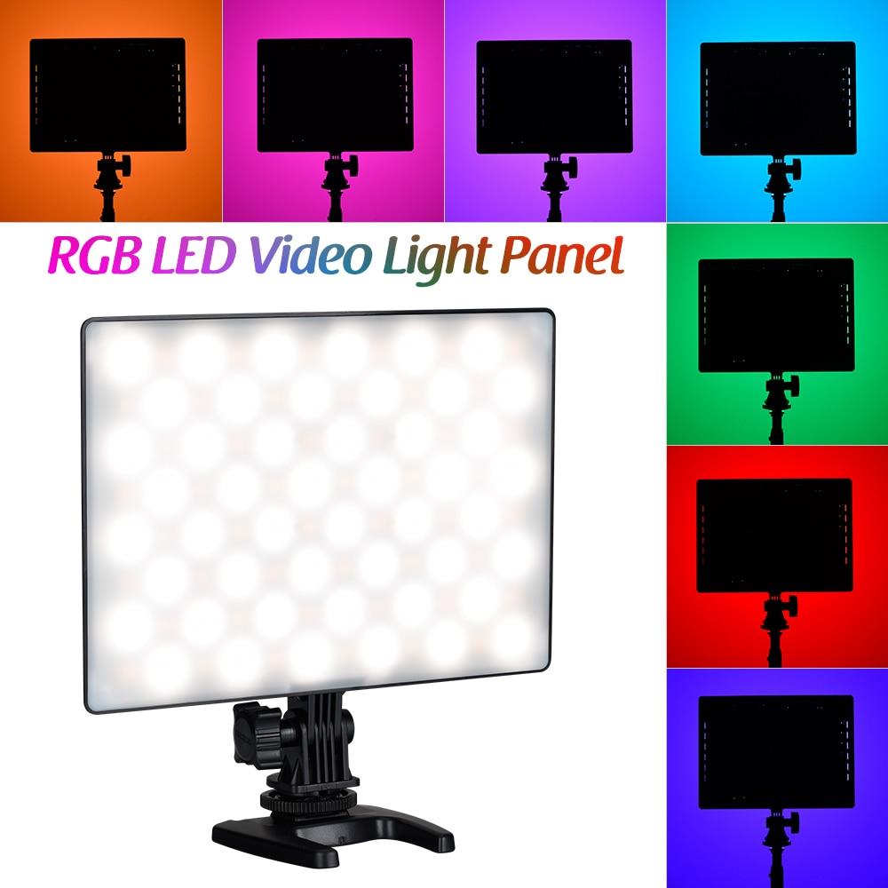 YN300 Air II LED RGB Light Camera Photo LED Video Fill Light Lamp Photography Lighting 3200K-5600K for Video Cameras