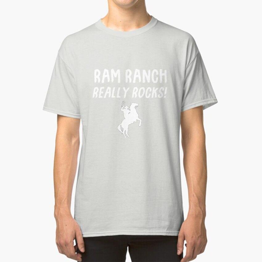 ¡Ram Rancho realmente rocas! T-Shirt Ram Rancho realmente rocas Ram Rancho Grant Macdonald meme gracioso Navidad caballo Rancho granja