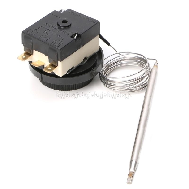 De 0 a 40 grados interruptor de control de temperatura termostato capilar interruptor de detección automática O12 19 dropship
