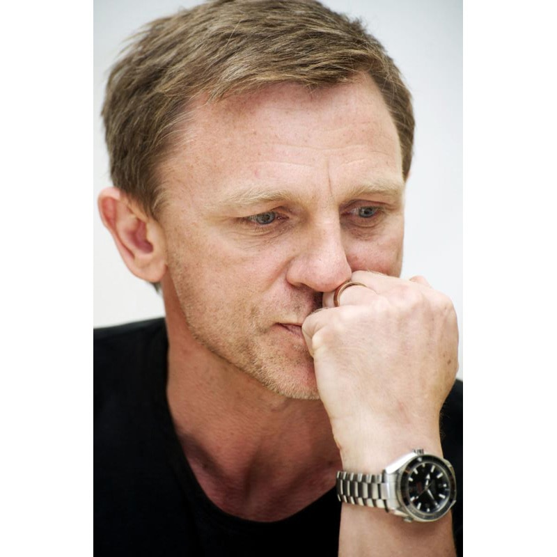 New Arrival Daniel Craig Poster Custom Canvas Fabric Painting Poster Home Decoration Mariage Cloth Fabric Wall Art Poster