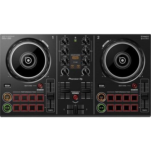 Pioneer Professional Dj controller audio sound mixer DDJ-200 2kanal good for night club home studio недорого