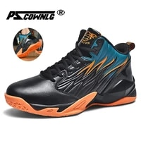men high top basketball shoes mens professional light basketball sneakers anti skid breathable outdoor sports shoes