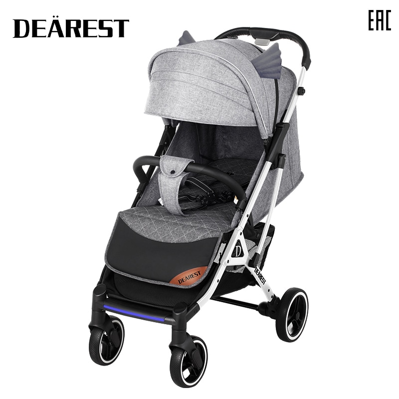 Deareat 819 New 2021 Baby Stroller Folding All Season High Landscape Free Shipping in Russia