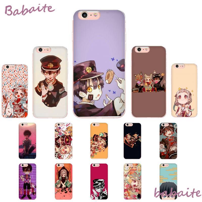Babaite baño a Hanako. Yugi DIY pintado teléfono Bling caso para iPhone 8 7 6 6S Plus X XS X MAX 5 5S SE XR 11 11pro promax